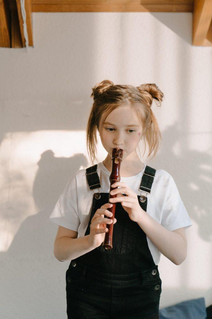 La flûte- l'instrument de musique le plus populaire